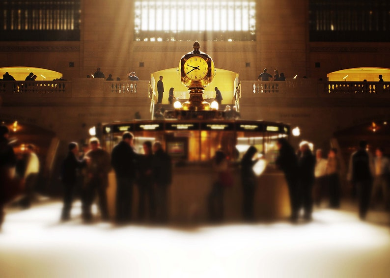 The Gathering Grand Central Terminal New York City  Fine image 0