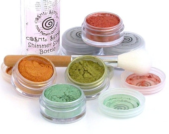Mica Pigment Powders - Cosmic Shimmer Golden Winter - for Polymer Clay, Paper Crafts, Resin, Nail Art etc