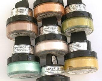 Großhandel kosmischen Schimmer Vergoldung Paste - metallischen Craft Paint - Multi Pack 7 x Acrylfarbe für Polymer Clay, Färbung und Papier Handwerk