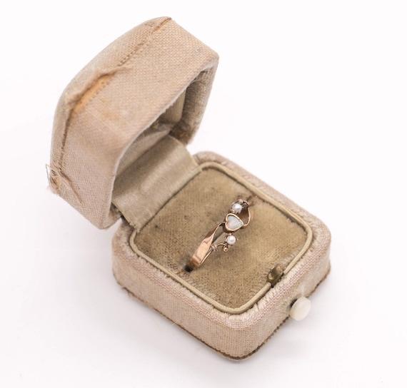 Antique 14k Gold Victorian Ring | 14k Gold Opal Ri