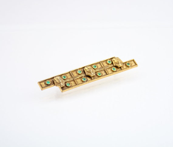 Vintage Antique Egyptian Revival Brooch | Egyptian