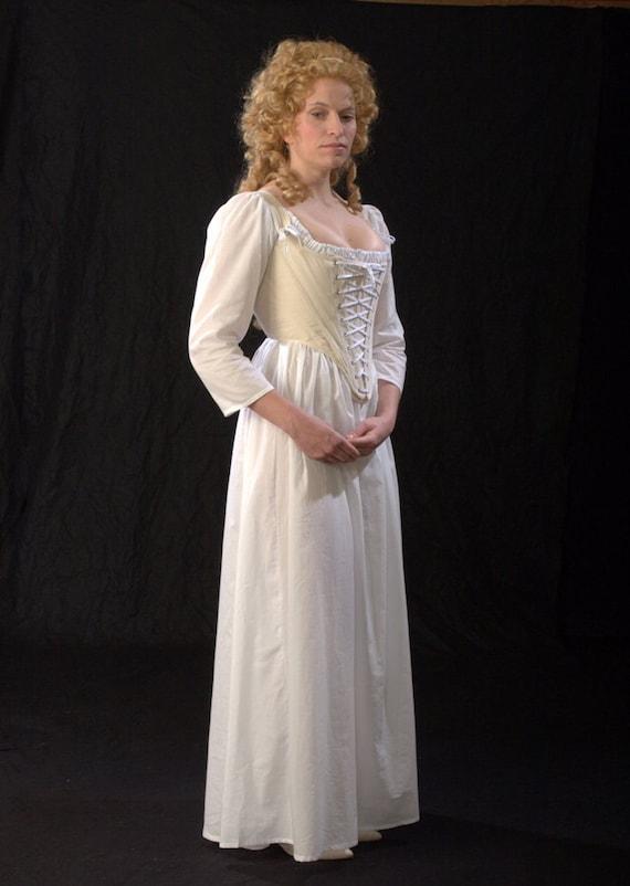 18th century Historic Underwear Ensemble for Round Gowns c. | Etsy