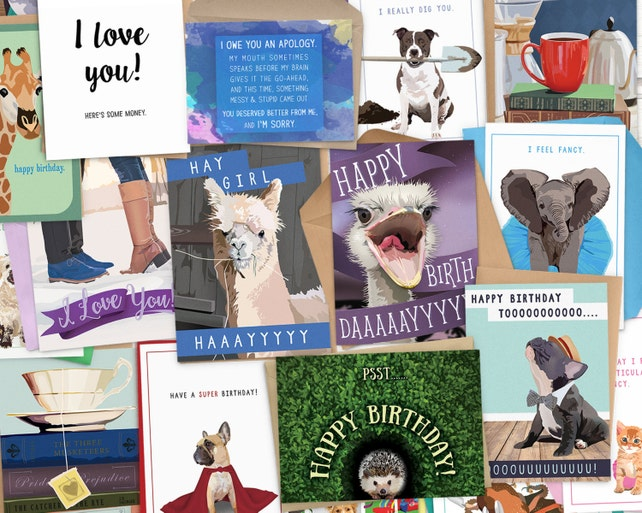 Bulk Birthday Cards 10 For 25 Stock Up Card Funny Greeting