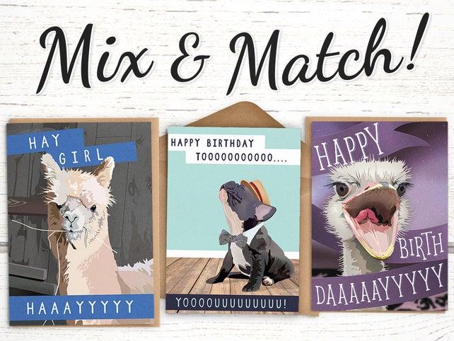 Bulk Birthday Cards 10 For 25 Stock Up