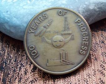 Vintage Navajo Tribal Centennial Coin 1868-1968
