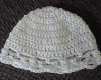 Baby Hat for Newborn or Preemie Baby Girl
