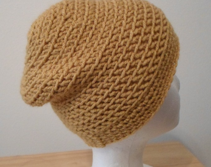 Slouchy Crochet Hat for Children or Women Hat Size Small