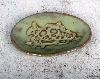 Ceramic Sewing Pin Dish or Jewelry Holder
