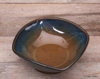 Large Hand Thrown Ceramic Pottery Bowl, Fruit Bowl, Salad Bowl