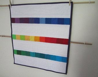 Rainbow Mini (Doll) Quilt