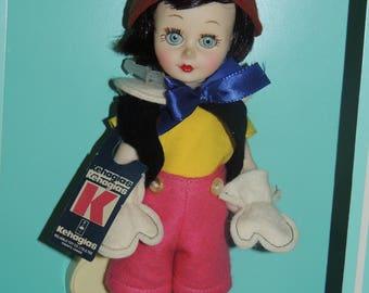 KEHAGIAS Pinocchio Doll in Original Box