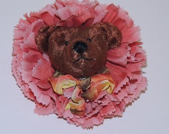 Hand Created Bear Brooch 1991