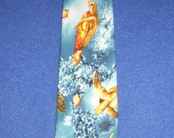 Sea Turtle Necktie