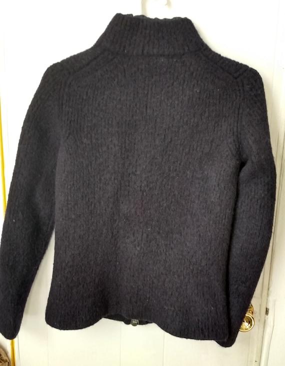 90s Prada Wool Jacket Navy - image 2