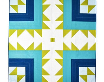 Bear Path Beginner Modern Quilt Pattern - by Patchwork and Poodles