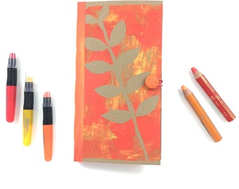 Orange Art Journal