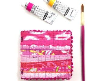 Pink Mini Watercolor Journal