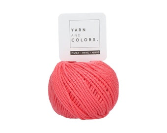 040 Pink Sand - Yarn and Colors Must Have Mini - Coral Cotton Yarn - Fine (2)