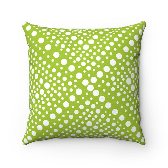 OUTDOOR Throw Pillow . Lime green Outdoor Pillow . Modern Geometric Lime Patio Cushion . Outdoor Bolster Pillow 16 18 20 inch Outside Pillow