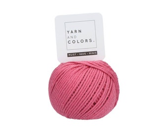 048 Antique Pink - Yarn and Colors Must Have Mini - Pink Cotton Yarn - Fine (2)