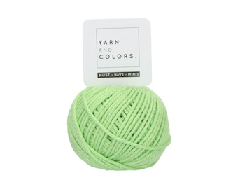 081 Lettuce - Yarn and Colors Must Have Mini - Green Cotton Yarn - Fine (2)