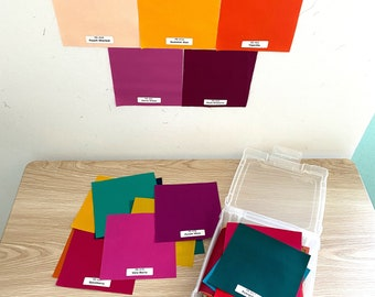 Pure Solids Charm Pack of all 135 colors by Art Gallery Fabrics