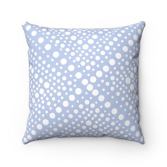 OUTDOOR Throw Pillow . Periwinkle Patio Cushion . Modern Geometric Outdoor Pillow 16 18 20 inch . Hyacinth pillow . Blue bolster pillow