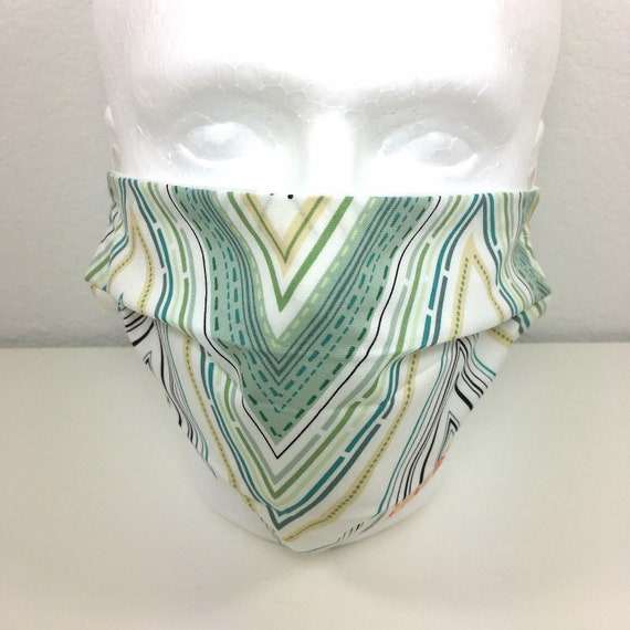 Extra Large Mask - XL Adult Adjustable Fabric Face Mask with Pocket for Filter