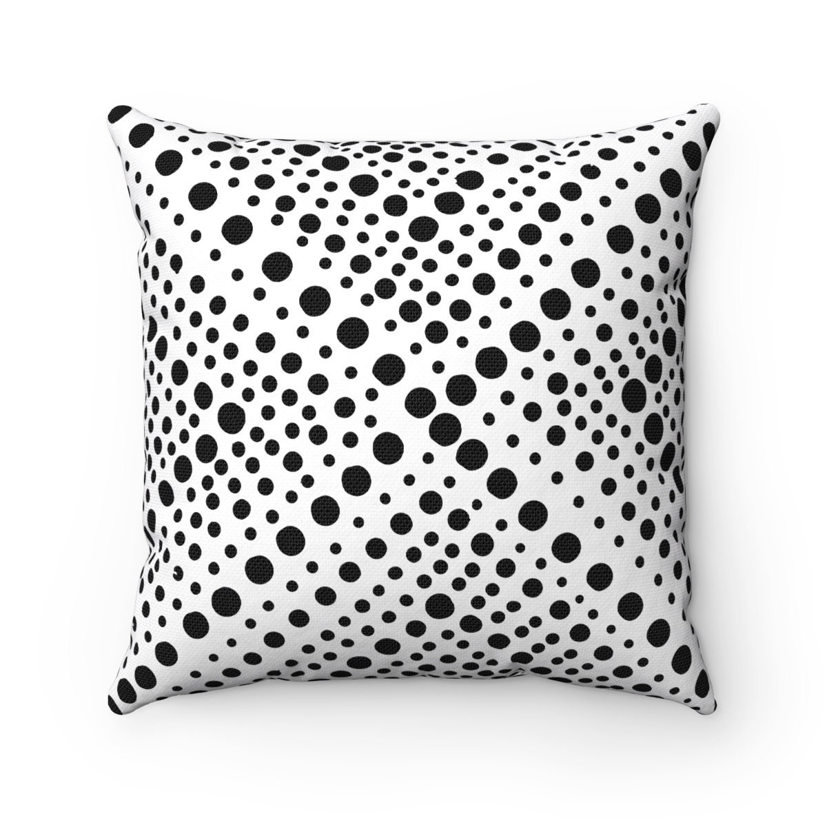 Outdoor Throw Pillow Black And White Outdoor Pillow Modern Etsy