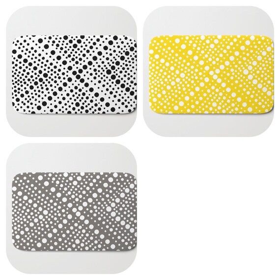 Bath Mat - Yellow Bath Mat - Black and White Bath Mat - Bath Rug - Gray Shower Mat - Wheel Rug - Warm Gray Rug - Mud Grey Memory Foam Mat