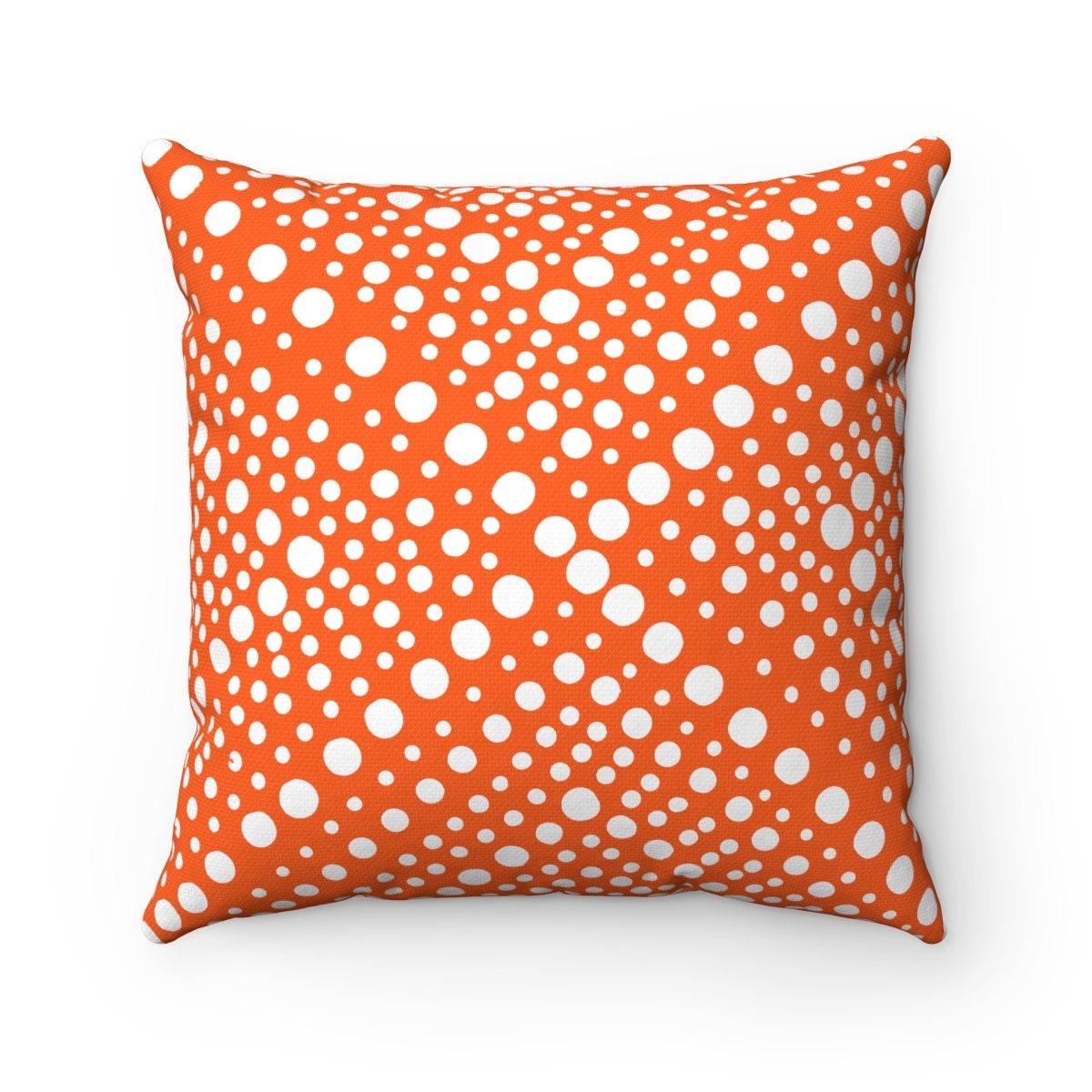 Outdoor Throw Pillow Orange Outdoor Pillow Orange Throw Pillow