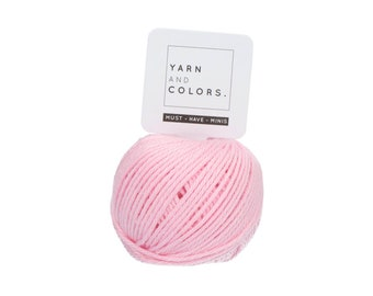 045 Blossom - Yarn and Colors Must Have Mini - Pink Cotton Yarn - Fine (2)