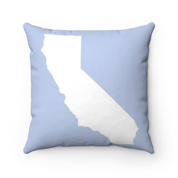 OUTDOOR Throw Pillow . California State Outdoor Pillow . Choose from 24 colors