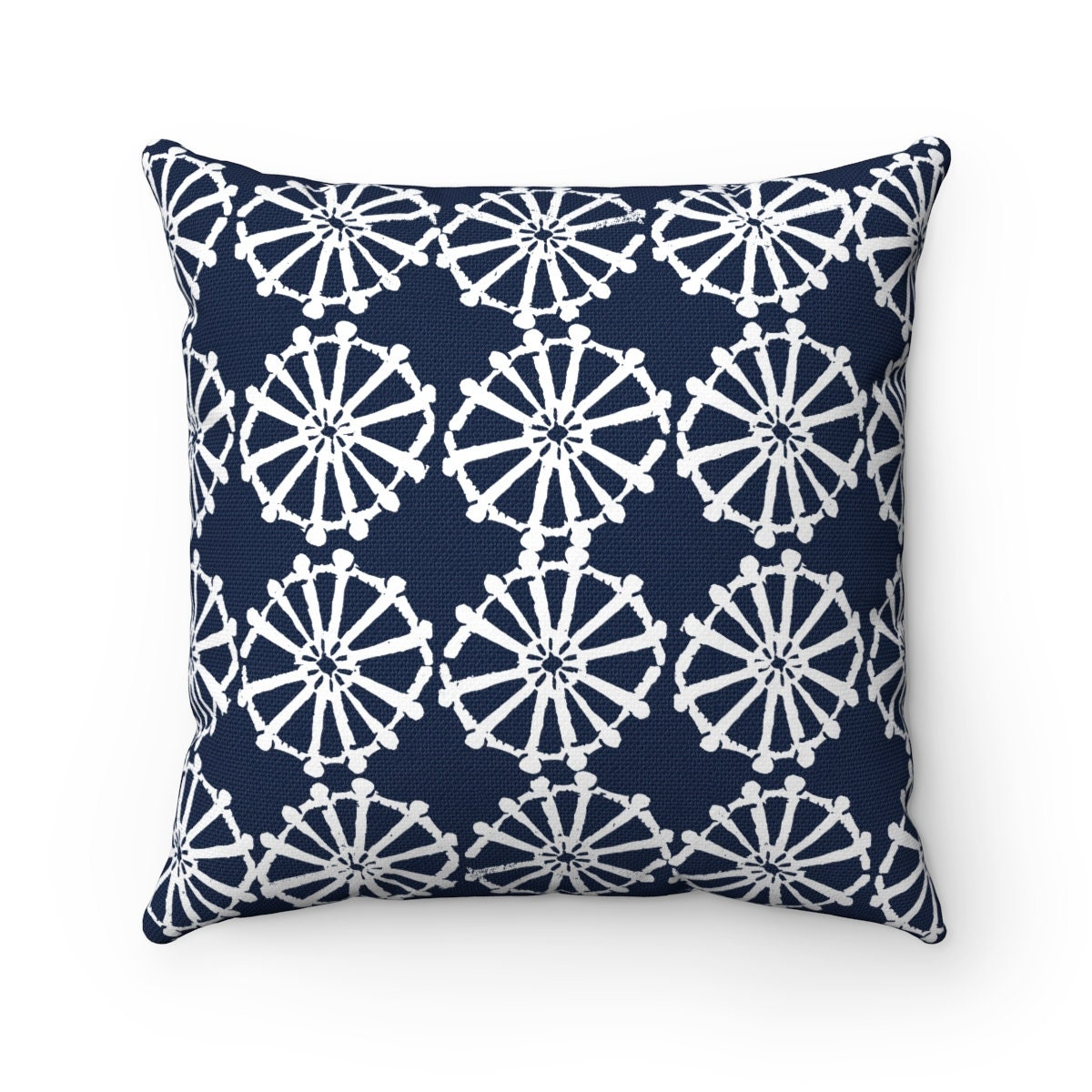 Outdoor Throw Pillow Navy Blue Outdoor Pillow Navy Patio Cushion