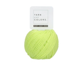 084 Pistachio - Yarn and Colors Must Have Mini - Green Cotton Yarn - Fine (2)