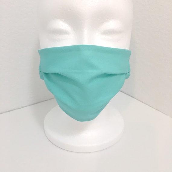 Aqua Child Face Mask - Adjustable Fabric Mask - Fresh Water