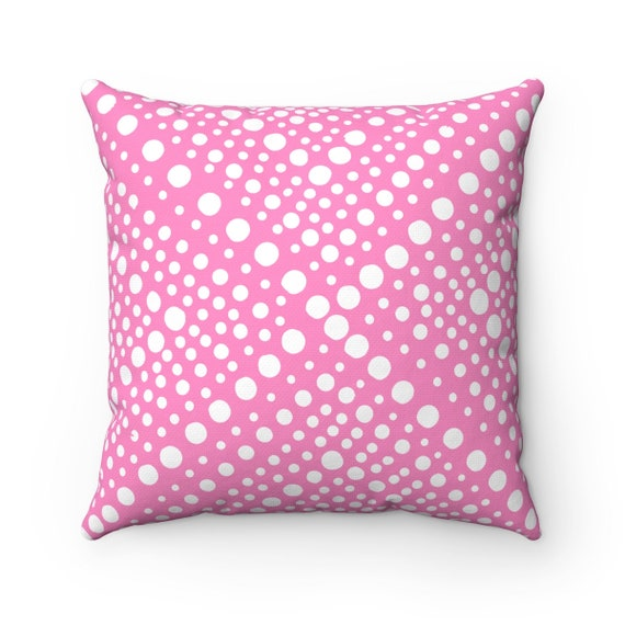 OUTDOOR Throw Pillow . Pink Outdoor Pillow . Modern Geometric Pink Patio Cushion . Outdoor Pink Bolster Pillow 16 18 20 inch Outside Pillow