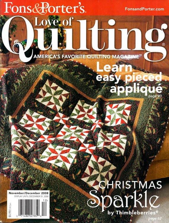 Fons And Porters Love Of Quilting Pinwheel Weathervane 12 Etsy