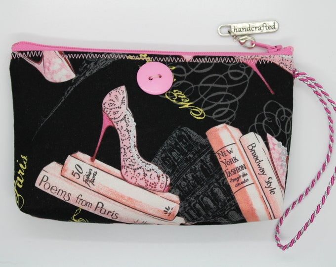 Handcrafted Fabric Wristlet