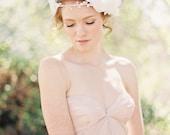 Wedding, Bridal Crown, Floral Headband, Halo, Bridal Headpiece, Bohemian Bridal Headband - Style 209