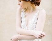 Wedding Hair Accessory, Bridal hair comb, Hair Accessories, Bridal Adornment, Lace adornment - Style 324