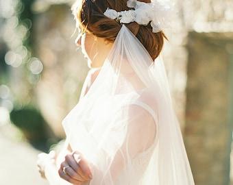 Hochzeit Haarschmuck, Art Kopfschmuck, Braut Kopfschmuck, Spitze, Haare kämmen - 316