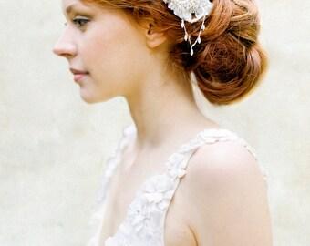 Braut Haarkamm, Perle Haarkamm, Kristall Haarkamm, Crystal Headpiece, Vintage inspirierte Haare kämmen, Hochzeit Kopfschmuck - Stil 321