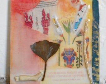 "Mixed Media Painting ""Good Nature"" by Chantee B"