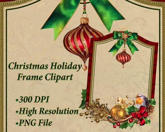Christmas Holidays Clipart.Holiday Clipart Christmas Frame Clip Art Holiday Graphics Christmas Frame Clip Art