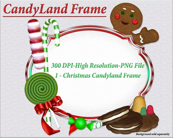 Christmas Candyland Clipart.Candy Clipart Christmas Candy Clipart Gingerbread Clipart Holiday Graphics