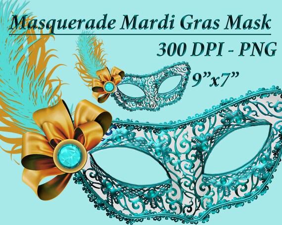 Maskerade Maske Clipart Clipart Karneval Maskerade Clipart Etsy