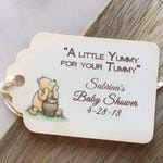 Winnie the Pooh Tag/Honey Jar Personalized Tag/Favor Tag/ Baby Shower/Birthday Party Favor Set of 12