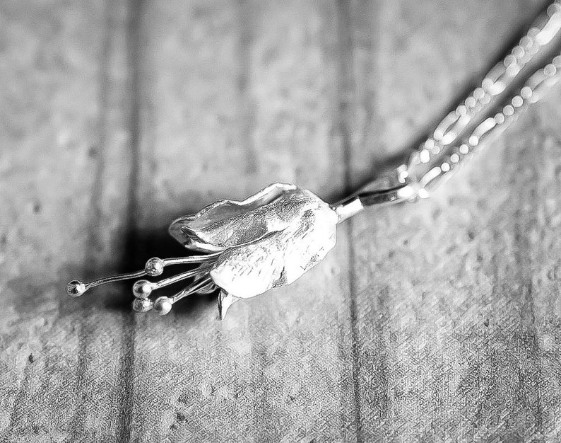 Necklace mini BELLFLOWER 925 Sterling Silver