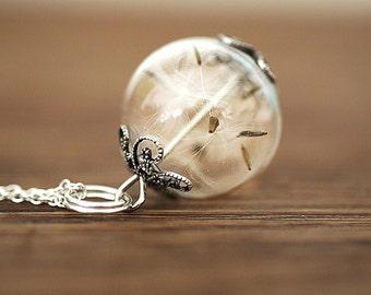 925er Silver True Dandelion Necklace